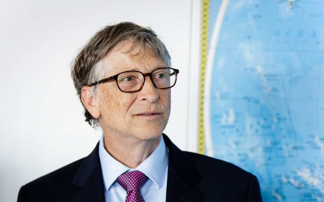 the Tech giant Bill Gates